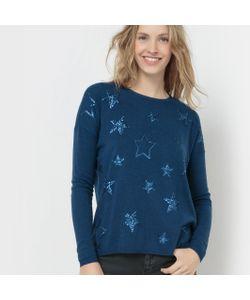SUD EXPRESS   Пуловер Со Звездами Из Блесток Mollywod