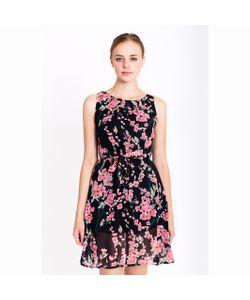 MIGLE+ME | Платье Из Вуали С Цветочным Рисунком.