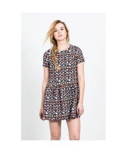 Compania Fantastica | Короткое Расклешённое Платье С Короткими Рукавами Azteca Skirt