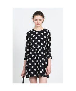 Compania Fantastica | Платье В Горошек С Рукавами 3/4 Twister Dress