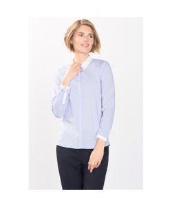 Esprit | Рубашка Классическая С Воротником И Контрастными Манжетами