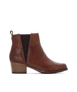 Tamaris | Ботинки Кожаные С Анималистичным Рисунком 25012-27