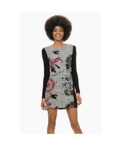 Desigual | Платье Прямое С Принтом В Клетку Vest Madrid