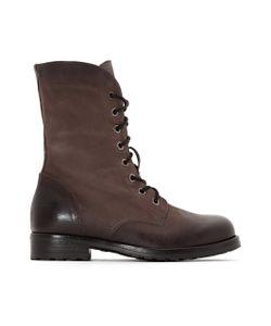 Clarks | Ботинки Кожаные С Отворотами Minoa River