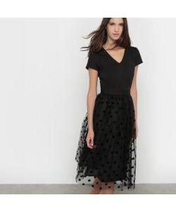 MADEMOISELLE R | Платье Из Тюля В Горошек