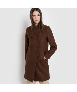 R essentiel | Пальто С Высоким Воротником 30 Шерсти
