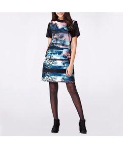 Yumi | Платье С Круглым Вырезом И Короткими Рукавами С Рисунком