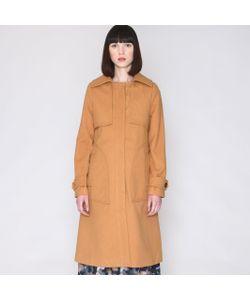 Pepaloves | Пальто Со Вставками На Плечах И Спинке