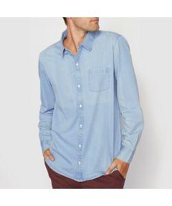 R essentiel | Рубашка Прямого Покроя С Длинными Рукавами Из Денима