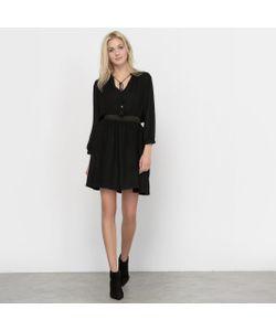 R studio | Платье Со Вставкой Из Люрекса