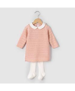 R mini | Комплект Из Платья И Колготок Возраст 1 Мес. 3 Года