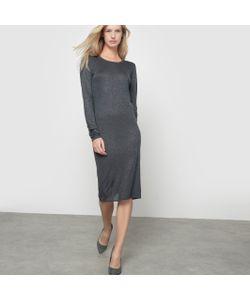 ICHI | Платье Вязаное Otilia С Серебристыми Блестками