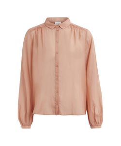 Vila | Рубашка Из Вуали Vipopular L/S Shirt