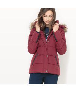 Esprit | Куртка Стеганая Короткая С Капюшоном