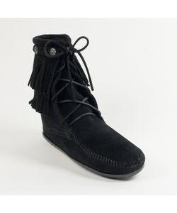Minnetonka | Ботинки Double Fringe Tramper