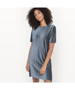 Vila | Платье С Эффектом Плиссировки С Короткими Рукавами Visomina Dress