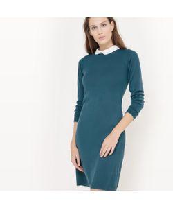R édition   Платье-Пуловер С Отложным Воротником
