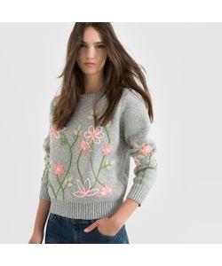Molly Bracken | Пуловер С Круглым Вырезом И Вышивкой Цветы