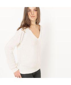 atelier R | Пуловер С V-Образным Вырезом Из Хлопка