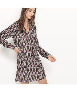 Suncoo | Платье Из Тонкой Ткани С Рисунком Calliste