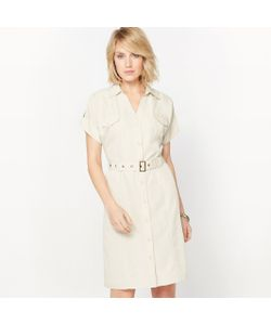 ANNE WEYBURN | Платье Струящееся Из Бархатистой Микрофибры