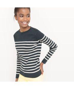R essentiel | Пуловер С Отворачивающимся Воротником Из Хлопка
