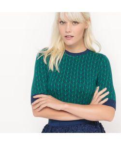 MADEMOISELLE R | Пуловер Хлопковый С Круглым Вырезом