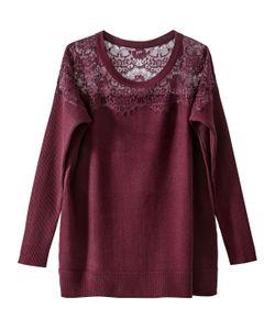 R édition | Пуловер Классический Из Акрила