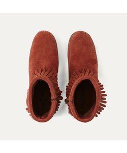 Minnetonka | Ботинки Из Замши С Бахромой