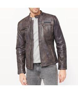 Pepe Jeans | Куртка Кожаная На Молнии