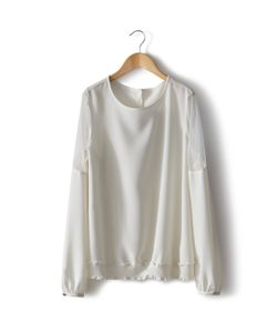 MADEMOISELLE R | Блузка Из Расшитой Гладью Ткани