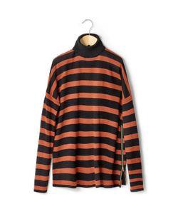 R essentiel | Пуловер-Водолазка С Полосатым Узором