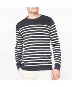 R essentiel | Пуловер-Тельняшка С Круглым Вырезом Из Биохлопка