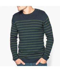 R essentiel | Пуловер С Круглым Вырезом В Полоску Из 100 Биохлопка