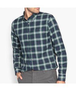 R essentiel | Рубашка Прямая В Клетку 100 Хлопок
