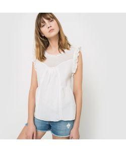 R studio | Рубашка Без Рукавов В Клетку Добби С Воланами