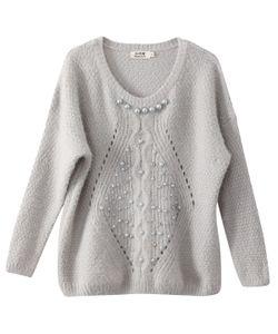 Molly Bracken | Пуловер С Длинными Рукавами И Вышивкой