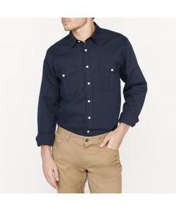 R édition | Рубашка С Длинными Рукавами Прямого Покроя С Содержанием Льна