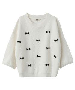 Molly Bracken | Пуловер С Бантиками 50 Вискозы