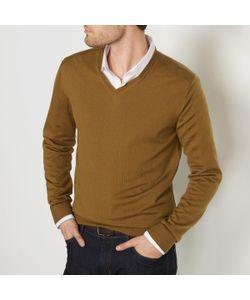 R essentiel | Пуловер С V-Образным Вырезом Из Шерсти Мериноса