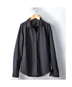 R essentiel | Рубашка Однотонная Из Поплина