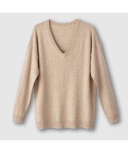 R essentiel | Пуловер С V-Образным Вырезом Из Хлопка И Кашемира