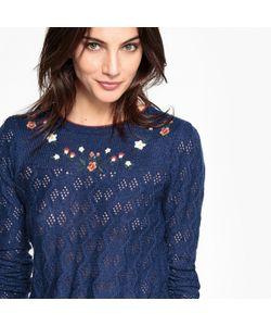 MADEMOISELLE R | Пуловер С Вышитым Цветочным Узором