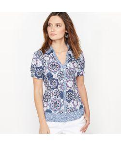 ANNE WEYBURN | Рубашка С Рисунком Из Струящейся Ткани