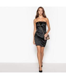 MADEMOISELLE R   Платье Без Бретелей С Атласным Бантом