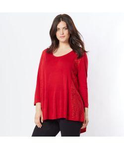 TAILLISSIME | Пуловер Свободного Покроя С Отделкой Кружевом