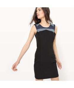 JOE RETRO | Платье Короткое На Тонких Бретелях Однотонное