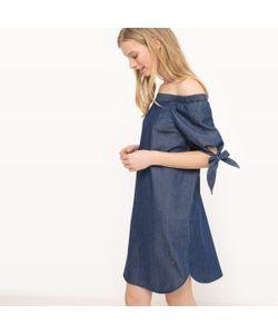 Vero Moda | Платье Короткое С Открытыми Плечами