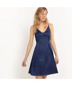 MADEMOISELLE R | Платье Короткое На Тонких Бретелях Однотонное