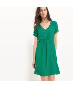 SUD EXPRESS   Платье Эластичное С Короткими Рукавами